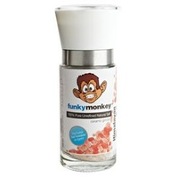 Funky Monkey Himalayan Pink SALT Refillable Glass Grinder