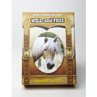 Wild & Free Horse Affirmation Cards - Display Box of 5 Packs