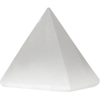 Crystal Pyramid SELENITE white 5x5cm
