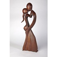 Kissing Couple Statue - Standing - 40cm