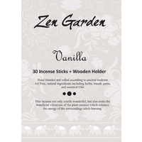 Zen Garden Incense - Vanilla - Single Packet