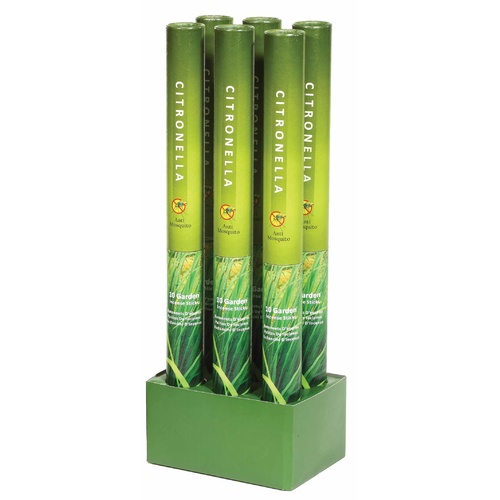 Jumbo Citronella Garden Incense - Full Box (6x tubes)