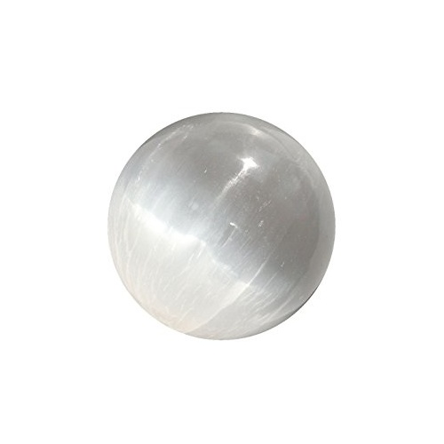 Crystal Sphere SELENITE White 5.5cm